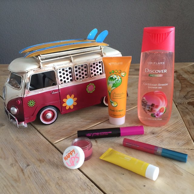 WIN: Summer Holiday pakket van Oriflame twv. ruim €40,-